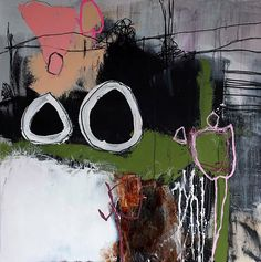 Nadine Bourgne. There is something about the colors and boldness of lines that attracts me