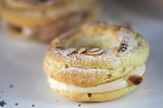 Paris-Brest, French choux pastry with Praline