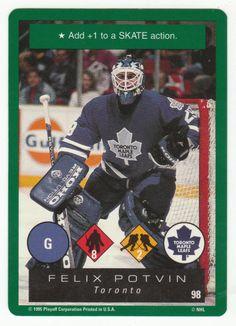 Felix Potvin # 98 - 1995-96 Playoff One on One Hockey