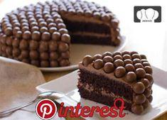 chocolate cake recipe and maltesers Sweet Recipes, Cake Recipes, Healthy Recipes, Delicious Desserts, Yummy Food, Campfire Food, Icebox Cake, Love Food, Cupcake Cakes