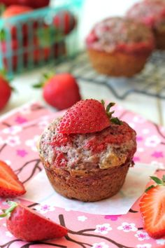 Strawberry Jam Poppyseed Muffins by Damn Delicious. Start your mornings off right with these fast and easy muffins with homemade jam swirled right into the batter! I hope everyone had a fun-filled weekend. Jason and I had a weekend getaway to Lake Tahoe where we jet-skied and did stand up paddle boating for the very first time, stuffed our faces with huge… [read more]