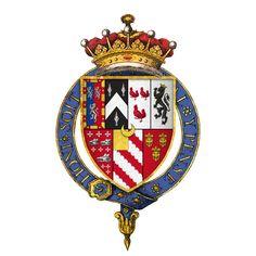 Coat of arms of Sir William Herbert, 1st Earl of Pembroke, KG