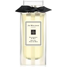 Jo Malone 'Blackberry & Bay' Bath Oil ($25) ❤ liked on Polyvore featuring beauty products, bath & body products, body cleansers, no color and jo malone
