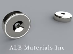 MM-A-60 Metric Mounting Magnets - ALB Materials Inc