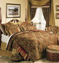 China Art Brown By Sherry Kline King Size Comforter Sets Bedding