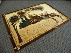 Cabin Area Rug # 380 Lodge $149 for 5 x 7 Discount Rugs, Area Rugs, Cabin, Home Decor, Rugs, Decoration Home, Room Decor, Cabins, Cottage