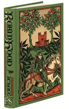 robin hood book-lovely cover!