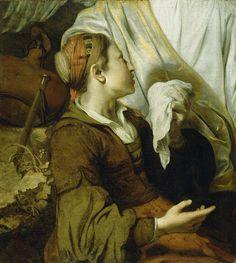 Title: Hagar Weeping  Artist/Maker(s): Gerbrand van den Eeckhout (Dutch, 1621 - 1674)