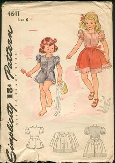 childrens Fashion From the 1950s