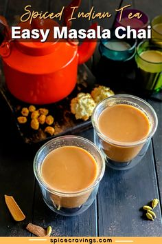Try this fragrant, spicy and delicious homemade masala chai recipe. In just ten minutes you'll have a memorable cup of tea to enjoy. #masalachai #indiantea #spices Veggie Recipes Healthy, Indian Food Recipes, Spicy Recipes, Healthy Meals, Easy Recipes, Flavored Alcohol, Zone Recipes, Masala Tea, Low Calorie Drinks