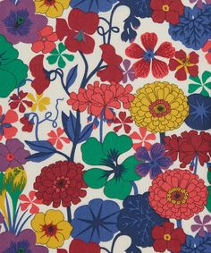 Arrow #LibertyPrint is a hand drawn print whose central flower the nasturtium symbolises patriotism and conquest. Crocus, geranium, sweet pea and zinnia adorn the remaining areas of the design symbolising cheerfulness, comfort, departure and goodness: http://www.liberty.co.uk/fcp/product/Liberty/Arrow-A-Tana-Lawn-Cotton/106460