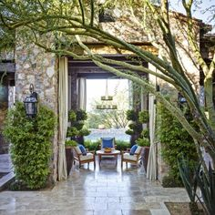 Outdoor Living   Traditional Home