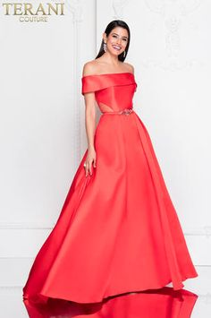 168d65464c4 terani – Anna Grace Formals Red Formal Gown