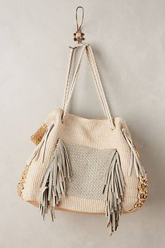Goldcoast Fringed Tote