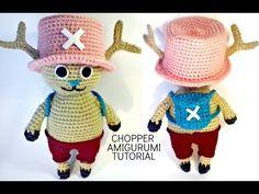 Tutorial CHOPPER One Piece amigurumi | HOW TO CROCHET CHOPPER OF ONE PIECE AMIGURUMI - YouTube