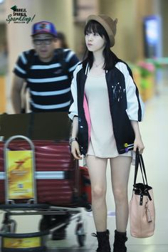 Girl's Day MinAh @ Airport