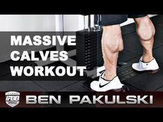 ▶ Ben Pakulski Calf Workout (Massive Calves) - YouTube