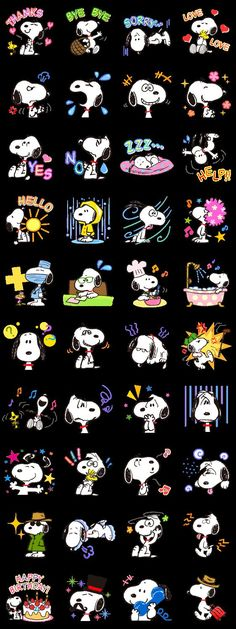 Face of Snoopy