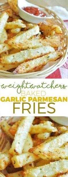 Weight Watcher's Baked Garlic Parmesan Fries!!! - 22 Recipe