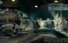 Willesden Shed (British Railways poster artwork) by David Shepherd