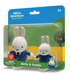 Miffy & Daddy 2 Pack Toys £7.99
