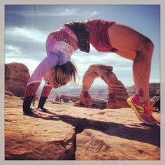 @Holly Miller's photo: #yoga #wheel #yearofyoga #inknburn #newtonrunning #fitness #urdhvadhanurasana