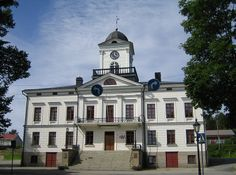 Kristiinankaupunki Town hall. - Ostrobothnia province of Western Finland.- Pohjanmaa - Österbotten