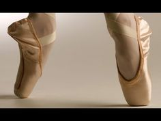 This a lovely quick walk through of the rather personal nature of pointe shoe making - love it
