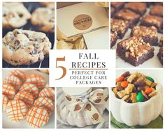 Fall means back to school and nothing motivates starving college students like homemade treats. I've gathered my five favorite recipes perfect for late night snacking as well as a few tips and tricks to ensure that they arrive in one piece! College students across the country are settling in to another year of academics, extracurriculars,...Read More »