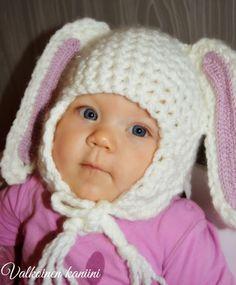 Valkoinen Kaniini: Valkoinen kaniini-fanipipo Crochet For Beginners, Winter Hats, Babies, Children, Kids, Young Children, Babys, Boys, Newborns