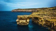 """Autre insigne des paysages maltaises c'est """"The Azure Window"""", en maltese: Tieqa Żerqa."""