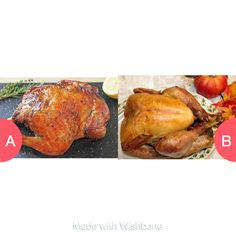 Chicken ???? or Turkey ???? ? Click here to vote @ http://getwishboneapp.com/share/16160304