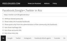Obtenir le flux RSS d'une page Facebook, d'un compte Twitter, YouTube, Google+... | Time to Learn | Scoop.it