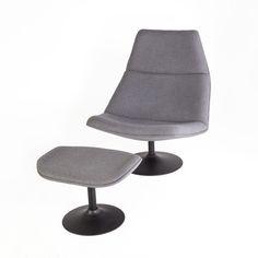 The Rimini lounge chair[FIC3810LGREY]