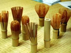Japanese Chasen ( bamboo wisk for tea ceremony) from Takayama Pref.