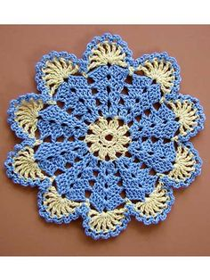 This unique set of mini doilies gives vintage-look crochet a trendy boho-chic twist, all in delightful miniature scale. You will find pineapples, butterflies, Irish roses, a charming little Crinoline Lady and an elegant paisley-shaped doily among the Crochet Coaster Pattern, Crochet Mandala Pattern, Granny Square Crochet Pattern, Crochet Flower Patterns, Crochet Diagram, Crochet Stitches Patterns, Crochet Squares, Thread Crochet, Crochet Designs