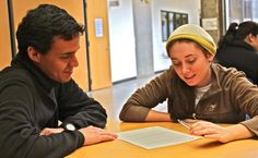 University of Oregon American English Institute - Conversation Partners. Repin by http://studyusa.com