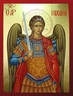 Diaspora Grecque - News Religious Icons, Religious Art, All Archangels, Greek Icons, Church Icon, Casual Art, Religious Paintings, Red Art, Orthodox Icons