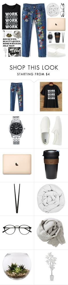 """#608 Rosegal 44"" by mia5056 ❤ liked on Polyvore featuring Uniqlo, KeepCup, CB2, The Fine Bedding Company, Brunello Cucinelli and Home Essentials"