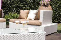 Gartenmöbel aus Polyrattan – auch 2015 ein gestalterischer Mittelpunkt
