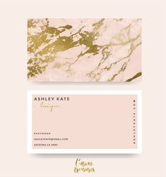 """Check out my @Behance project: """"PInk Marble business card"""" https://www.behance.net/gallery/49065607/PInk-Marble-business-card"""