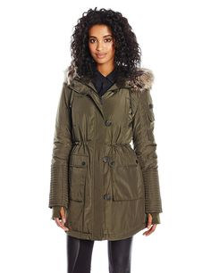 BCBGeneration Women's Snorkel Parka -- You can get more details by clicking on the image.