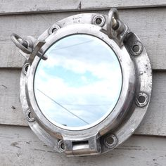 Vintage Port Hole Mirror