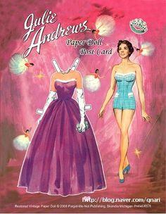 Julie Andrews Paper Doll card | 9_qnari.jpg 380 ×491 pixel