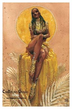 22338997_714268938769085_6289120335798779510_o Sexy Black Art, Black Love Art, Black Girl Art, Art Girl, Oshun Goddess, Goddess Art, Black Goddess, African American Art, African Art