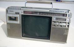 Panasonic TR 1200S radio cassette TV 1984 great condition   eBay