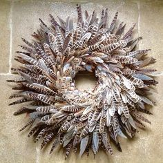 Feather Wreath Small