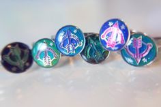 Sagittarius Star Sign Mood Rings :)  for sale on etsy