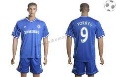Chelsea Maillot Torres 9 Domicile 2013-2014 FT2823