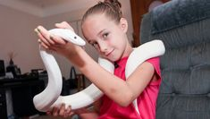 DISCOVERY CHANNEL / BARCROFT TV PRESENTS:  9-Year-Old Snake Handler Krista Guarino #Support #Share